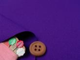 無地ウーリーアムンゼン生地(紫)