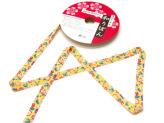和りぼん1.5cm幅・桜に蝶(黄色)