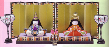 木目込み雛人形キット・親王飾・寿