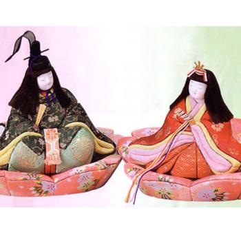 木目込み雛人形キット・桜花親王