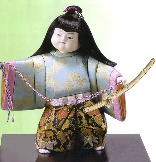 木目込五月人形キット・太刀