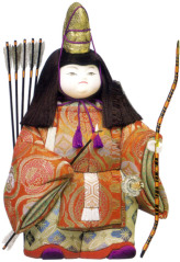 木目込五月人形キット・武者公達(むしゃきんだち)