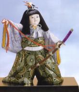木目込五月人形キット・誉太刀