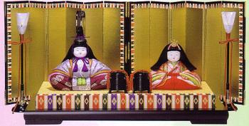木目込み雛人形キット・親王飾・陽光
