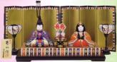 木目込み雛人形キット・親王飾・京極