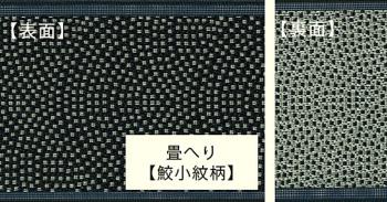 畳へり 鮫小紋柄・10m巻