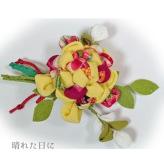 ちりめん手芸キット つまみ細工のインテリア花束ブーケ