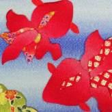 押絵キット・月々の彩「8月金魚の舞」