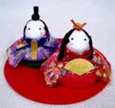 【限定販売】キット・京ちりめんのお手玉雛人形
