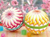 手まりキット・満開の桃(2個セット)