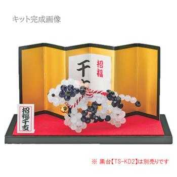 2021 干支ビーズキット クリスタル 宝来丑(うし)