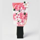 京ちりめんキット つまみ細工で作る桜の羽子板