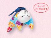 つるし飾りパーツキット・這子(水色)