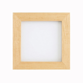 木製フレーム・白木(外径11.3cm角)
